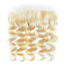 Virgin Human Hair Blonde #613 Body Wave 13x4 Lace Frontal - NAZODA