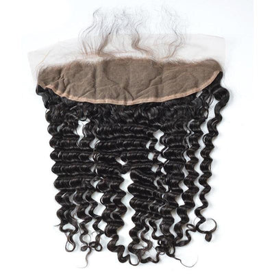 Virgin Hair Deep Wave 13x4 Lace Frontal