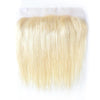 Virgin Human Hair Blonde #613 Straight 13x4 Lace Frontal - NAZODA