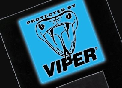 Viper Logo illuminated