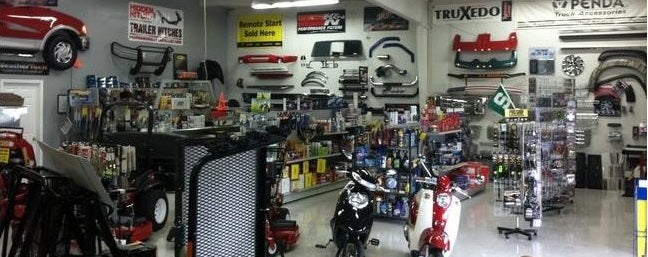 Monroe Truck and Auto Accessories Showroom
