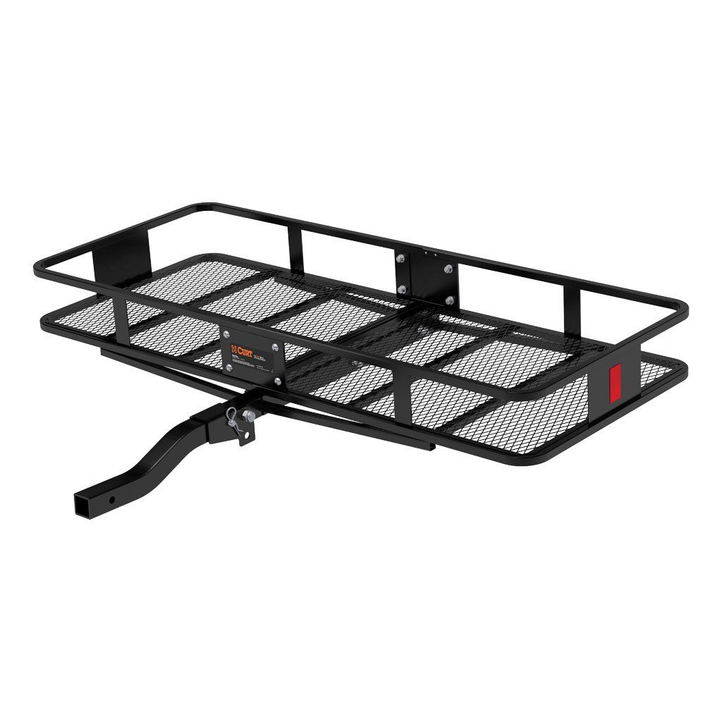 "60"" X 24"" BASKET-STYLE CARGO CARRIER (FOLDING 2"" SHANK) #18153"