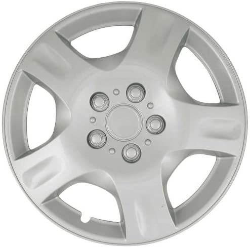 CCI IWCB942-16S 16 Inch Clip On Silver Finish Hubcaps - Pack of 4 2002-2004 Nissan Altima