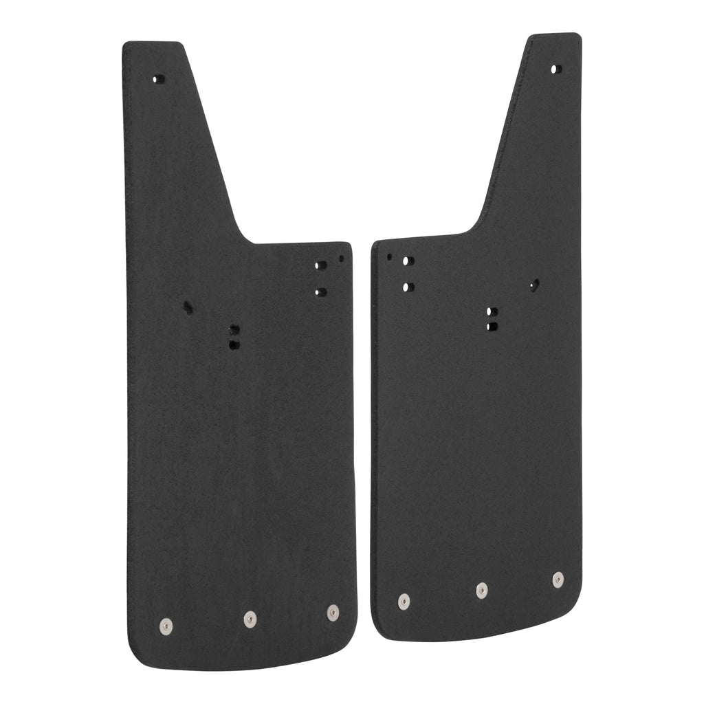 "Front or Rear 12"" x 23"" Textured Rubber Mud Guards, Select F-150, Mark LT"