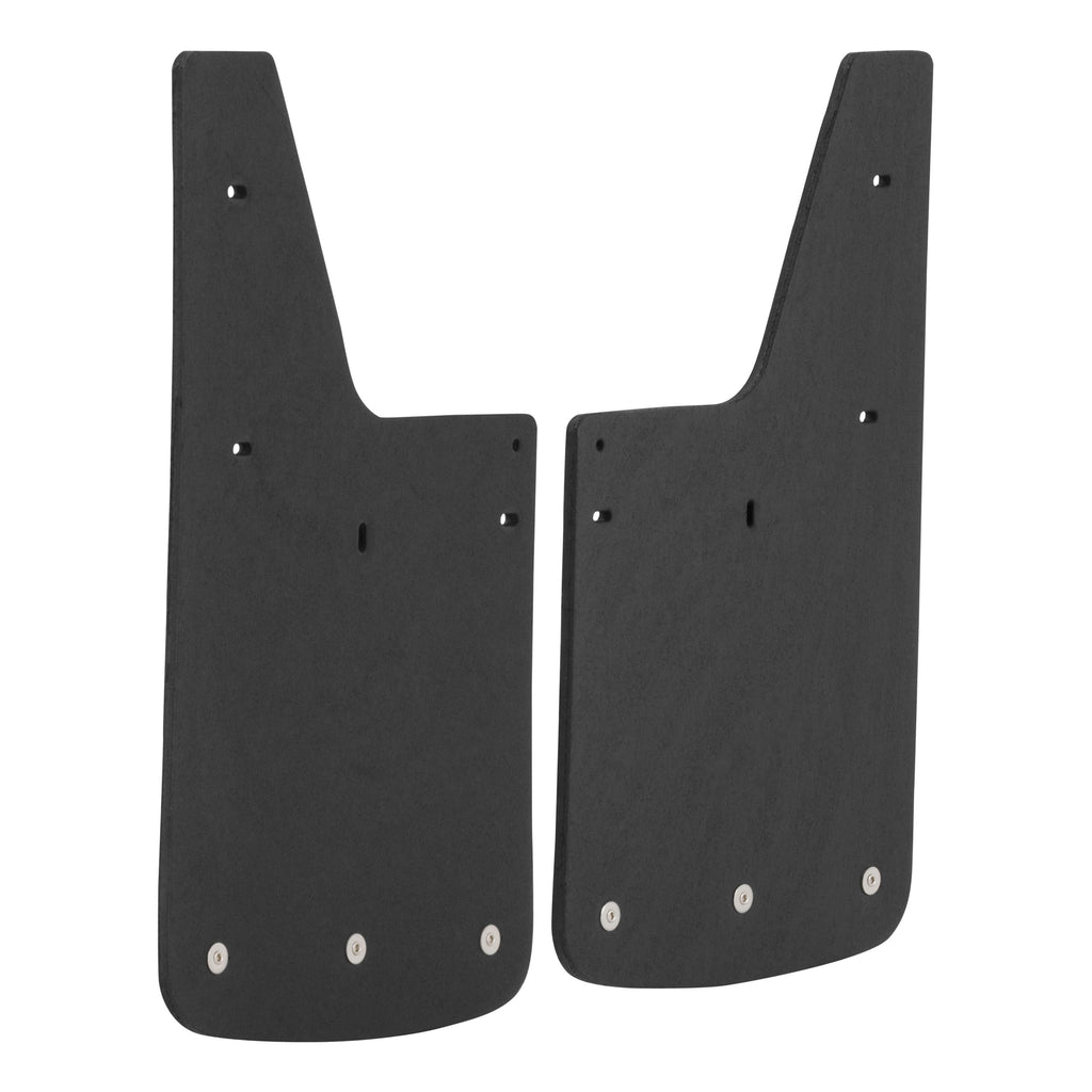 "Front or Rear 12"" x 20"" Textured Rubber Mud Guards, Select Chevy Colorado ZR2"