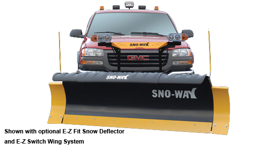 SnoWay 29HD Series Snow Plow 8' Steel Plow with down pressure