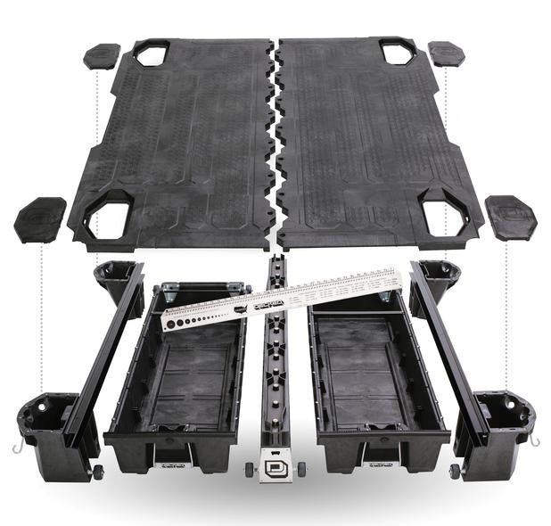 "Decked DF3 Fits 6' 6"" Ford F150 (2004-2014) Black in color"