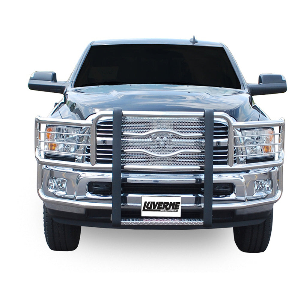 Prowler Max Polished Stainless Grille Guard (No Brackets)