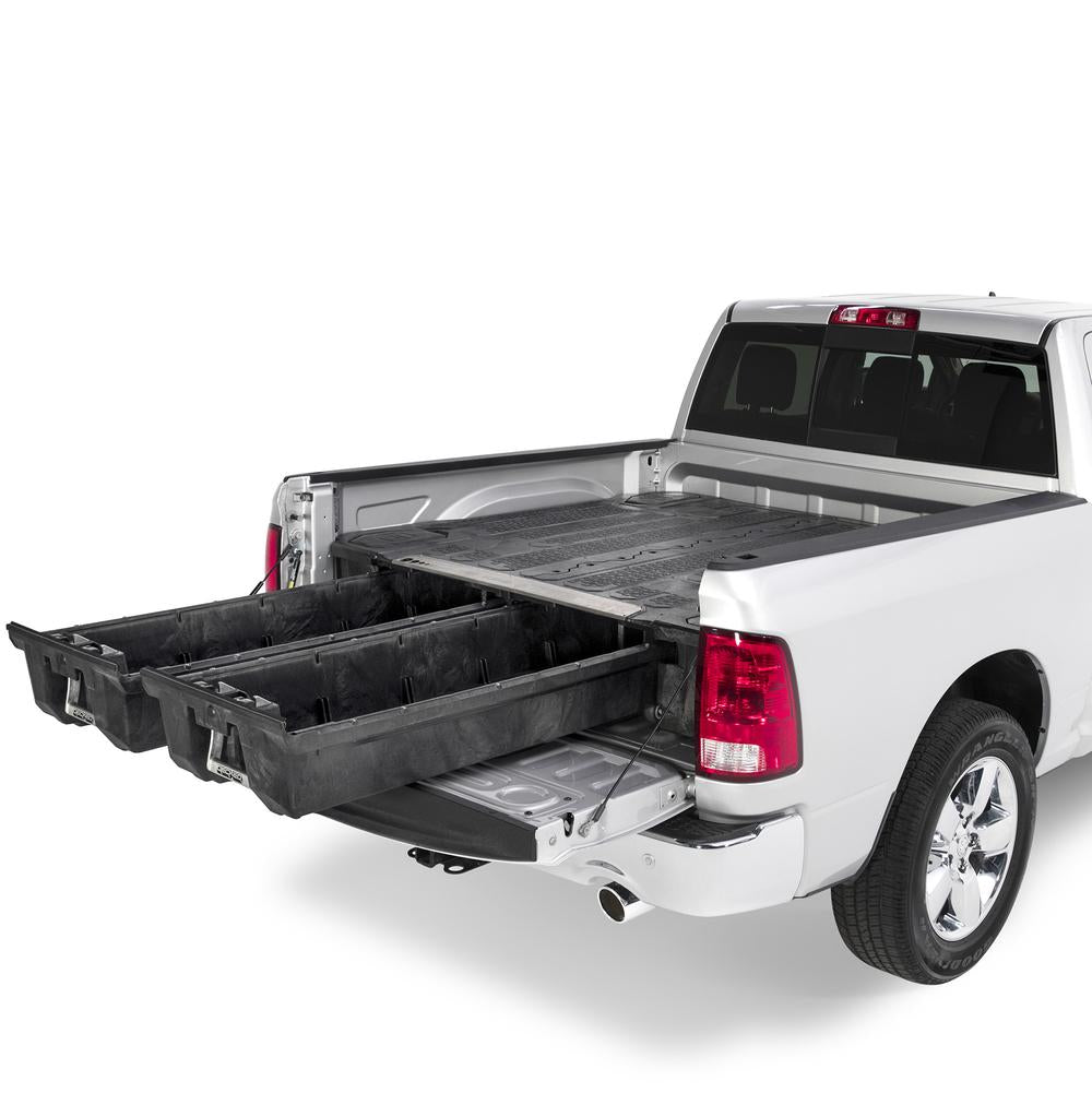 "Decked DR4 Fits 6' 4"" RAM 1500 (2009-2018) & RAM 1500 Classic (2019) Black in color"