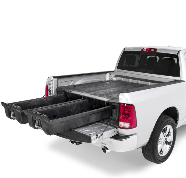 "Decked DR2 Fits 6' 4"" RAM 1500 (2002-2008) Black in color"