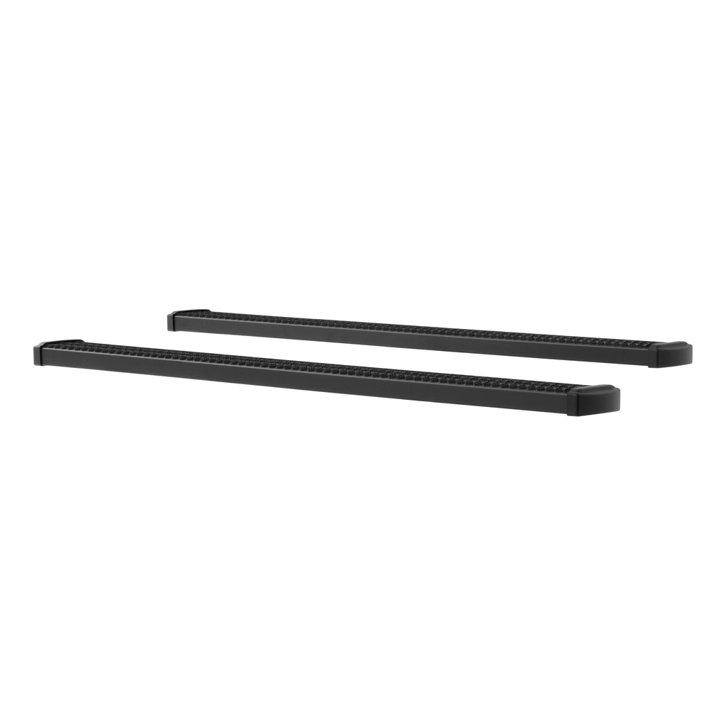 "Grip Step 7"" x 78"" Black Aluminum Running Boards, Select Ford Super Duty"