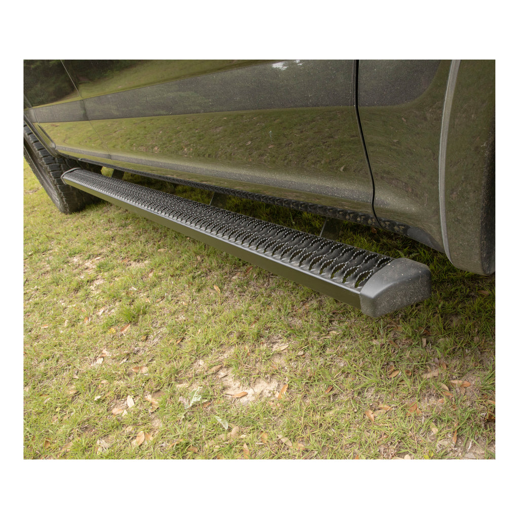 "SlimGrip 5"" x 88"" Black Aluminum Running Boards, Select Nissan Titan, XD"