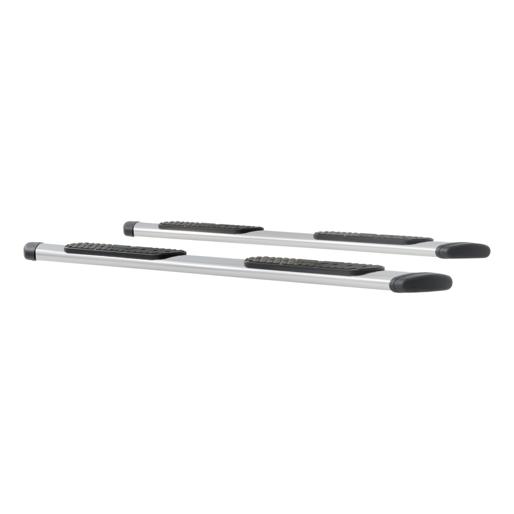 "Regal 7 Polished Stainless 88"" Oval Side Steps, Select Silverado, Sierra"
