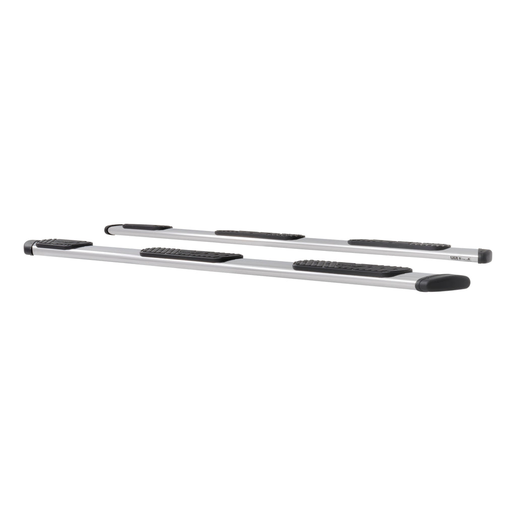 "Regal 7 Polished Stainless 114"" Oval W2W Steps, Select Ford F-250, F-350"