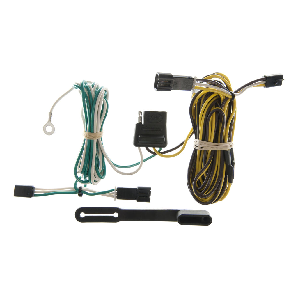 Custom Wiring, 4-Way Flat, Select Chevy G10, G20, G30, GMC G1500, G2500, G3500