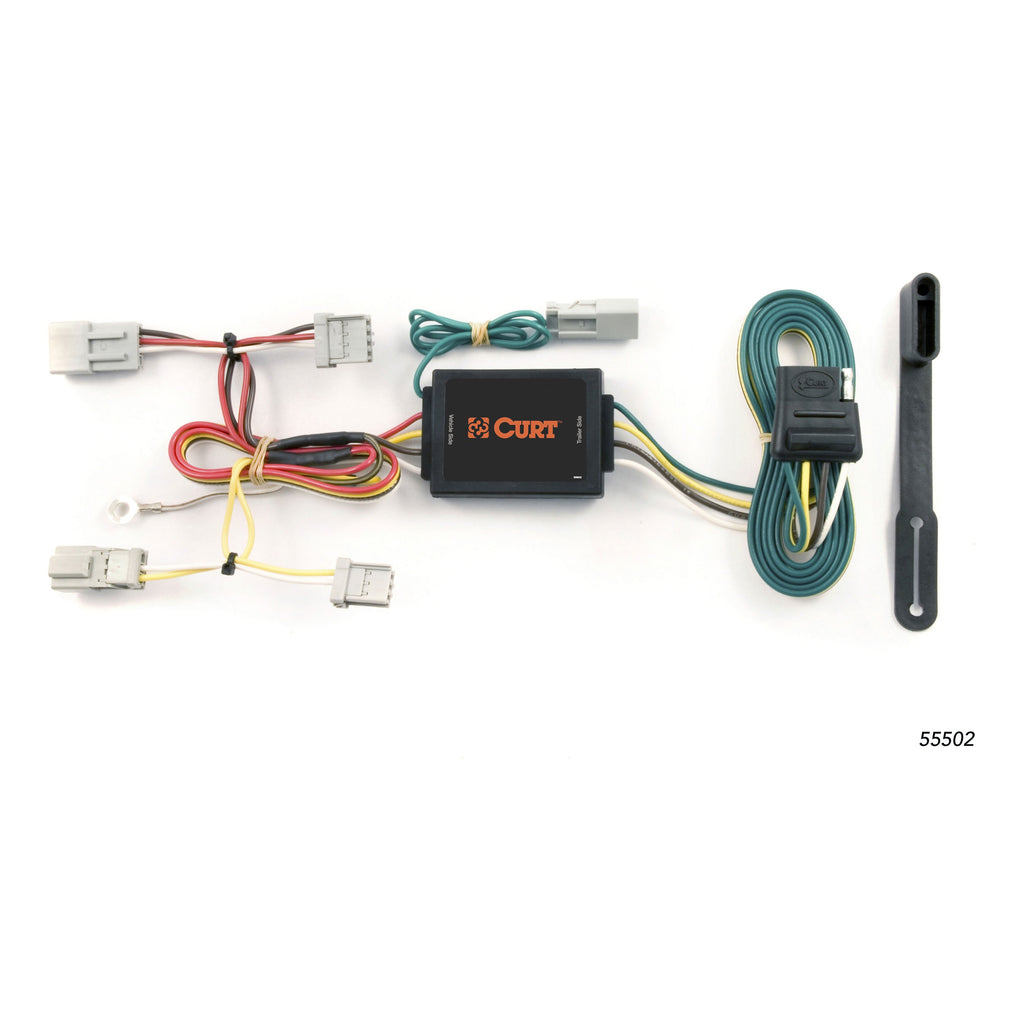 Custom Wiring Harness, 4-Way Flat Output, Select Honda Accord, Acura TSX