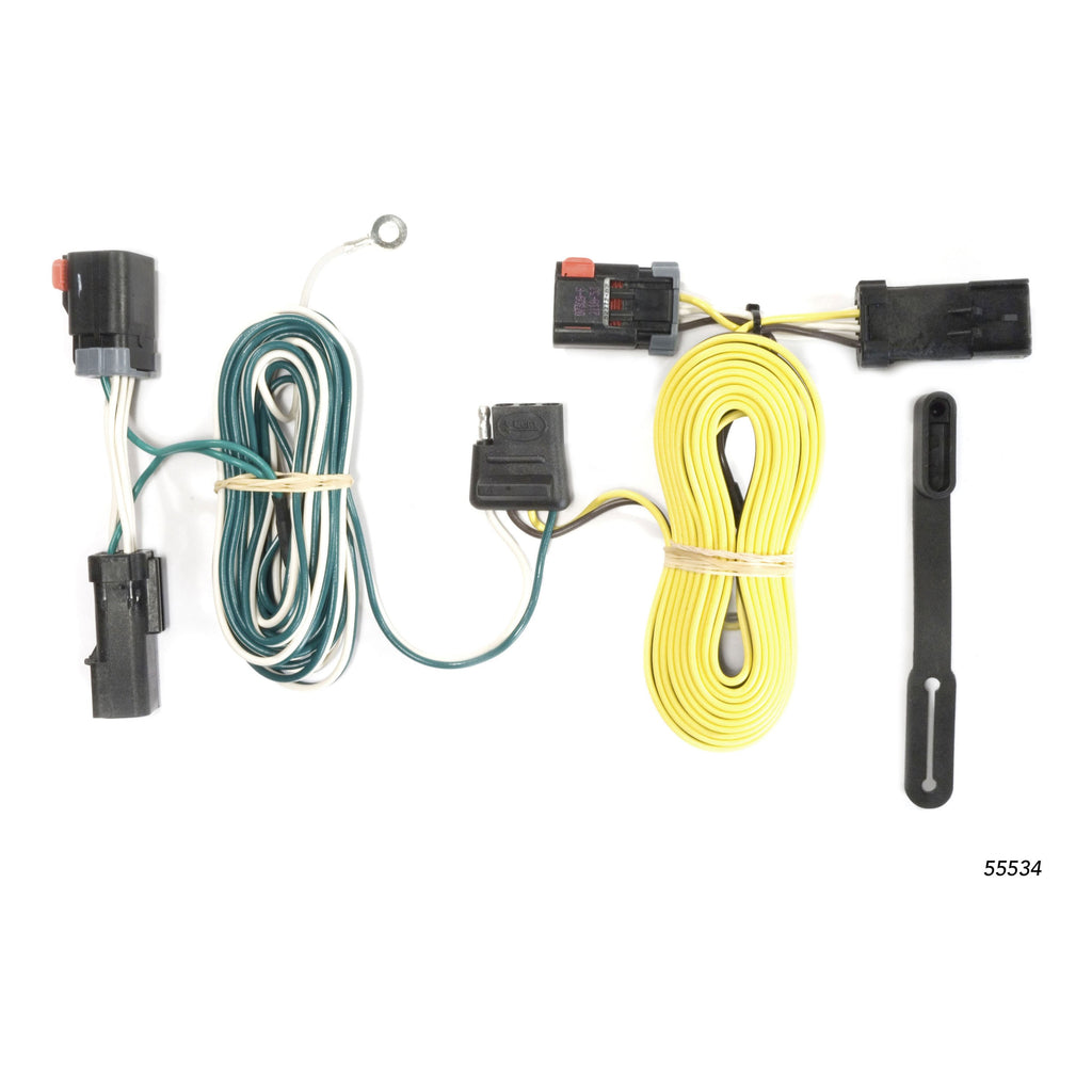 Custom Wiring, 4-Way Flat Output, Select Chrysler 300, Dodge Charger, Challenger