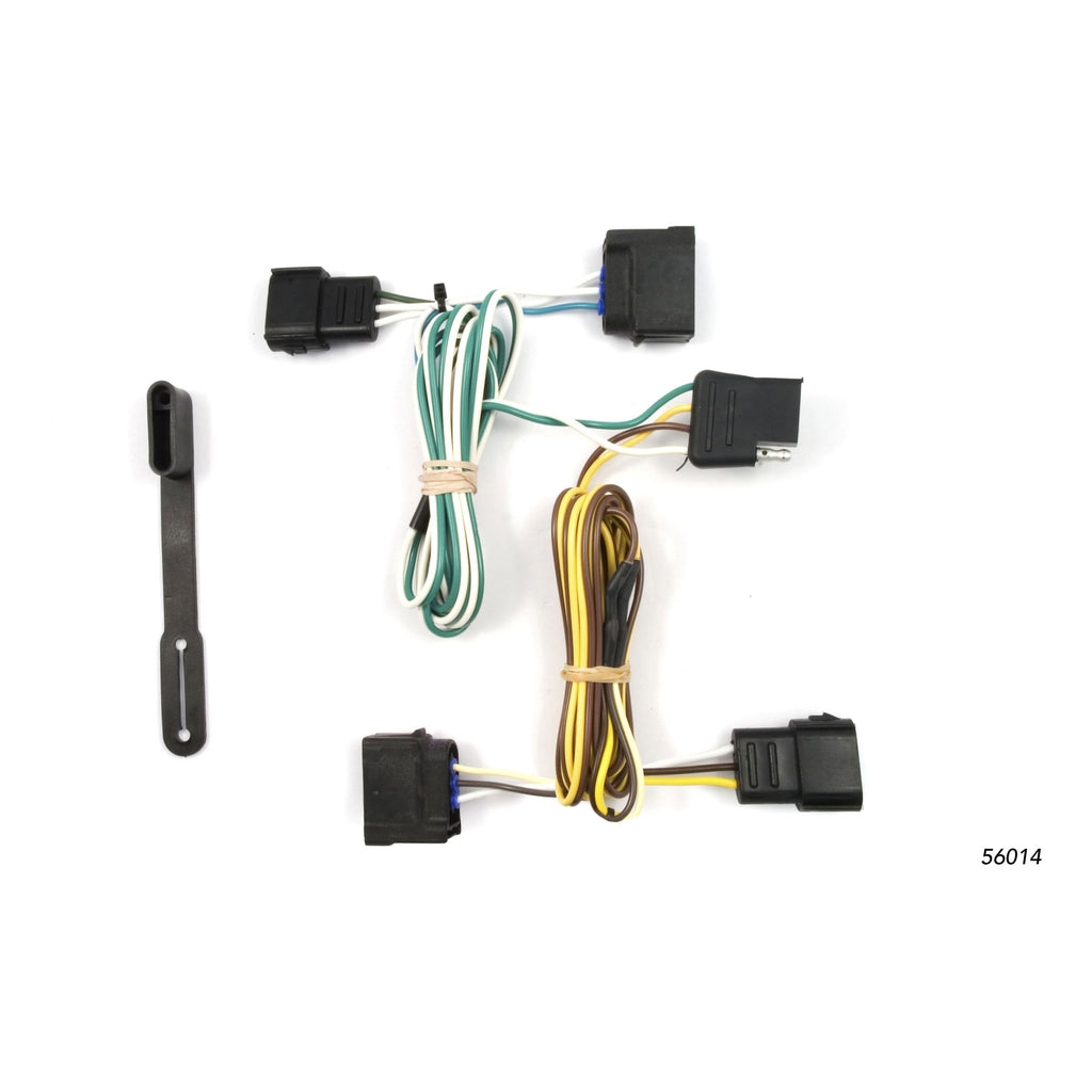 Custom Wiring, 4-Way Flat Output, Select Chevrolet Corvette, Ford Focus, Ranger
