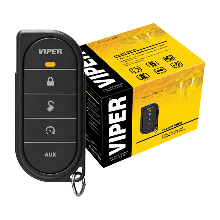 Viper Remote Start Unit - Five Button Unit - 1 Way