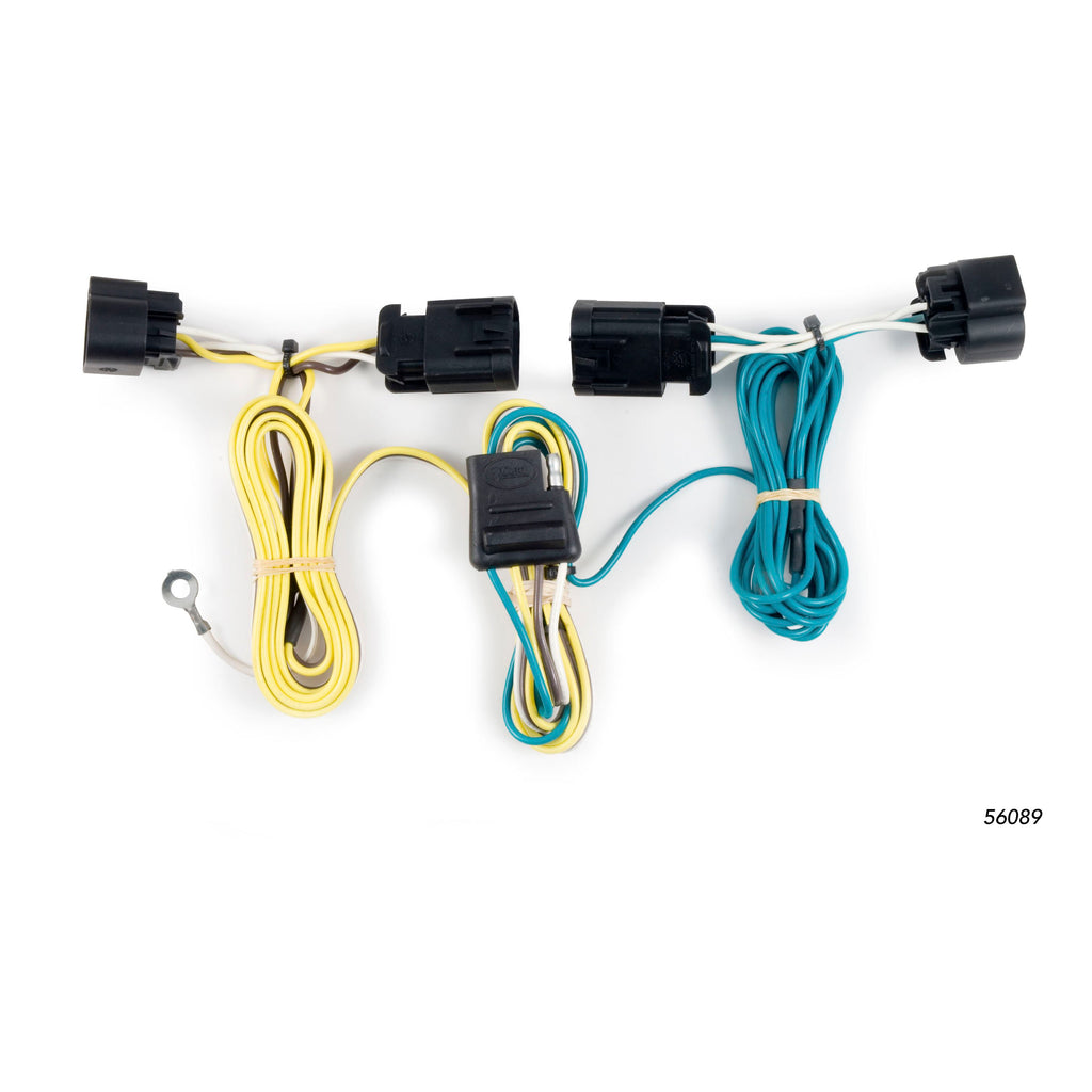 Custom Wiring Harness, 4-Way Flat Output, Select Chevrolet Camaro