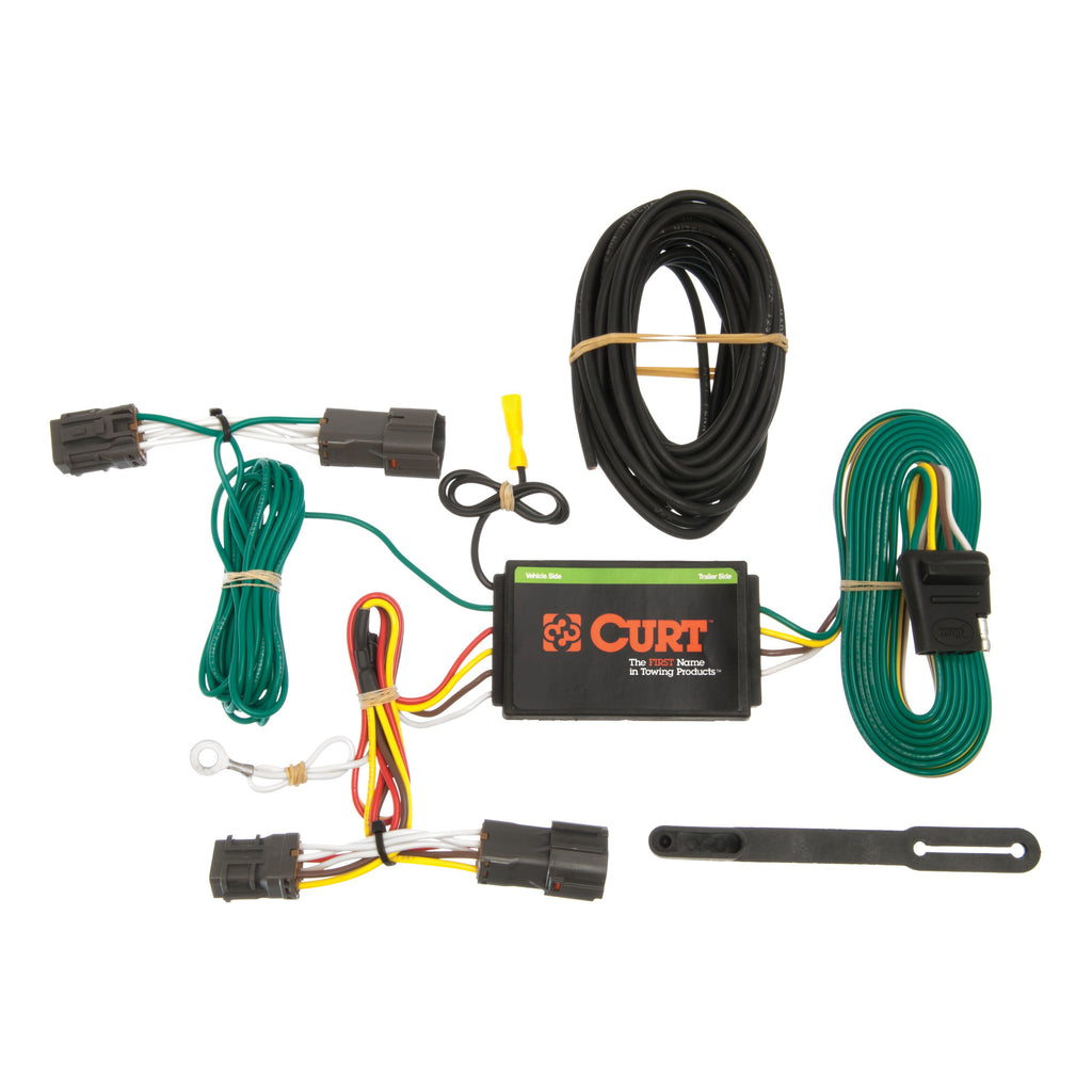 Custom Wiring Harness, 4-Way Flat Output, Select Hyundai Veloster