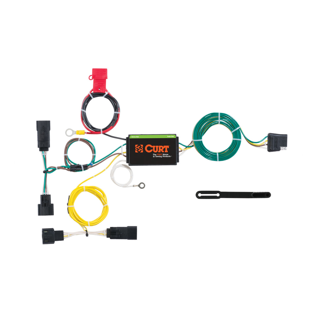 Custom Wiring Harness, 4-Way Flat Output, Select Dodge Charger