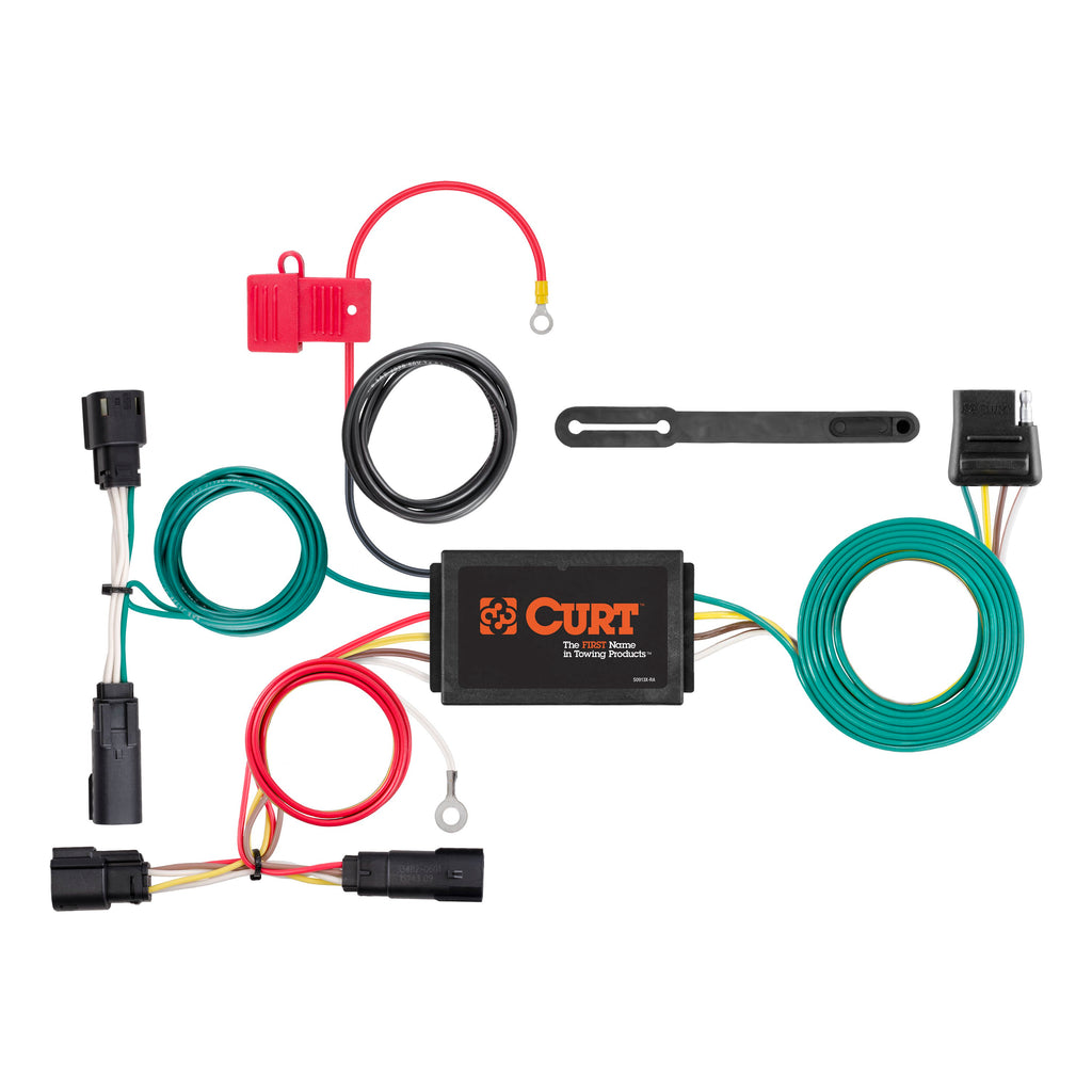 Custom Wiring Harness, 4-Way Flat Output, Select Chevrolet Volt