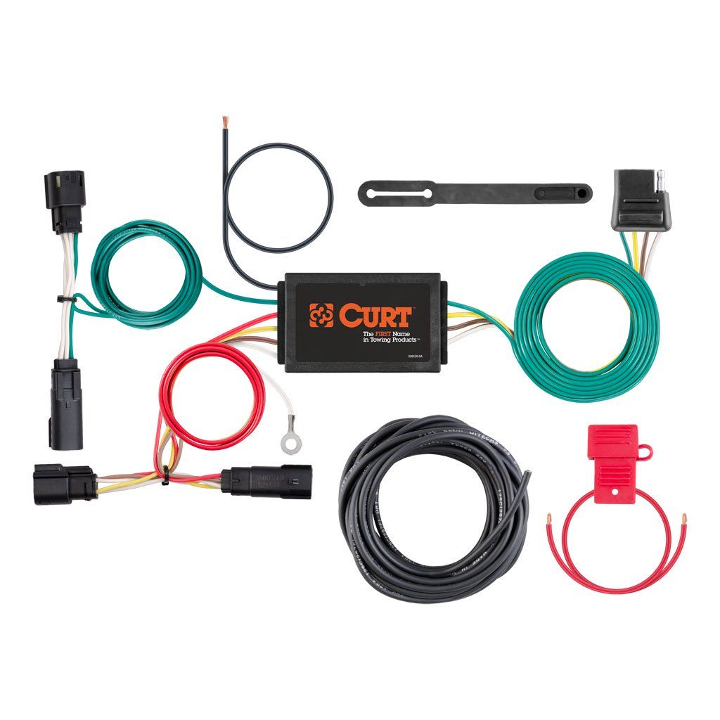 Custom Wiring Harness, 4-Way Flat Output, Select Ford Escape