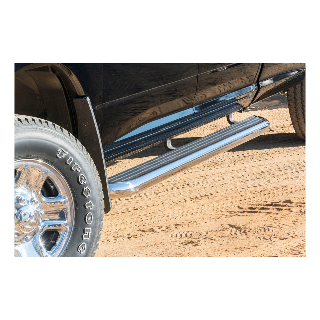 "MegaStep 6-1/2"" x 72"" Aluminum Running Boards, Select Toyota 4Runner"
