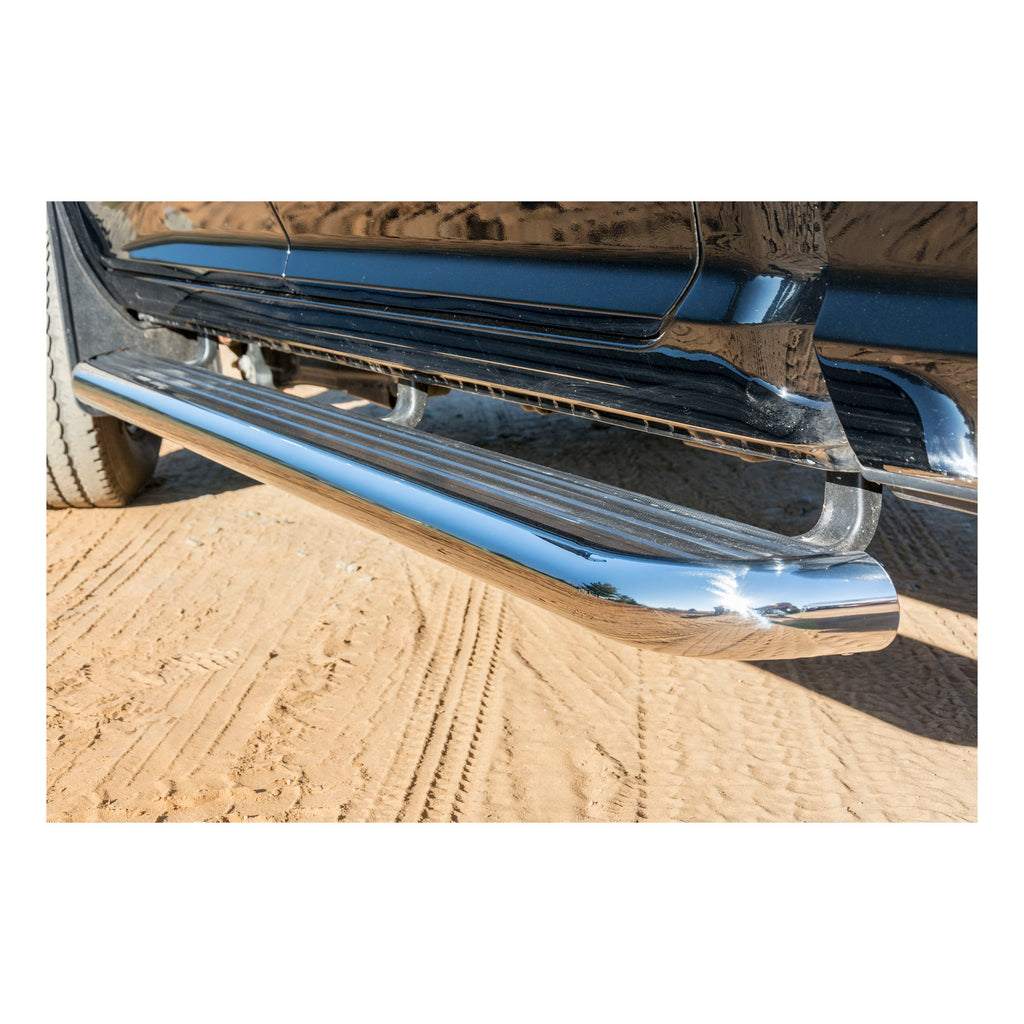 "MegaStep 6-1/2"" x 88"" Aluminum Running Boards, Select Ford F-Series"