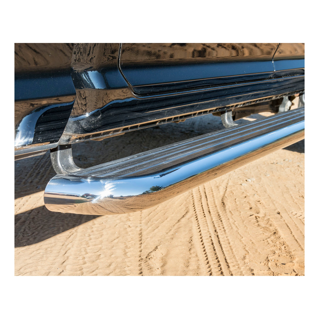 "MegaStep 6-1/2"" x 108"" W2W Aluminum Running Boards, Select Ford F-150"