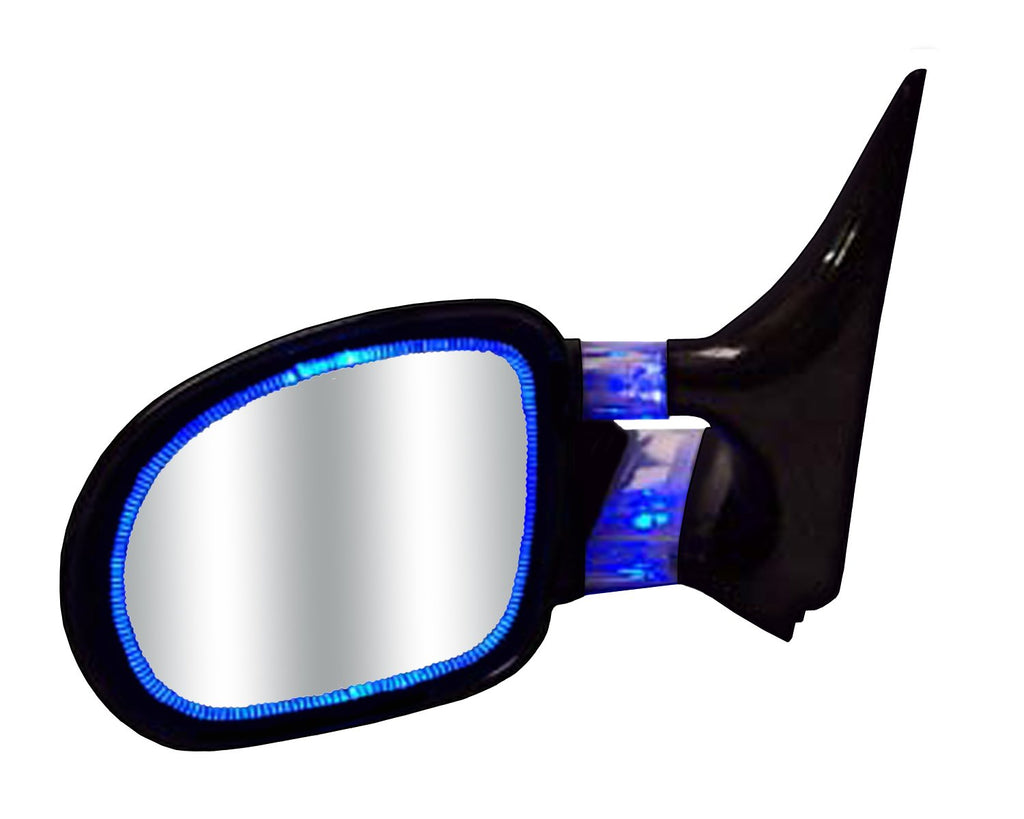Optic Glow replacement mirrors Blue illuminated side view mirrors
