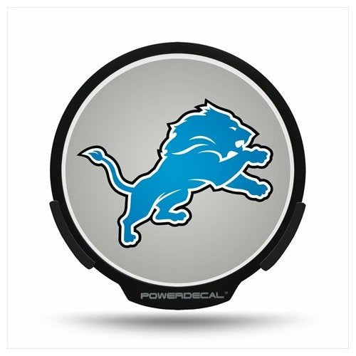 Detroit Lions Lighted NFL Power Decal