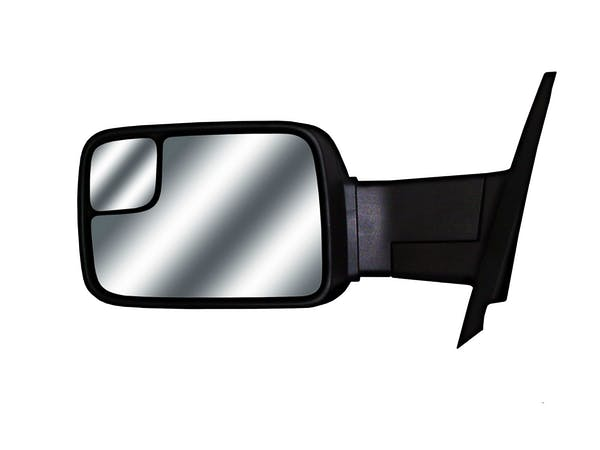 Towing Mirrors - Kit contains 1 LH and 1 RH mirror, instructions, and hardware