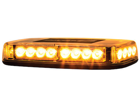 11 inch  Rectangular Amber LED Mini Light Bar Multi-Mount 8891040