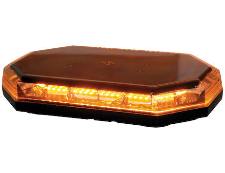 15 inch Octagonal LED Mini Light Bar Amber - 8891060