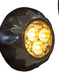 Amber Surface Strobes/recessed LED strobe lights - 8892400