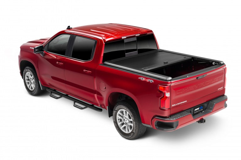 ARE Double Cover Tonneau Cover Retractable and lift