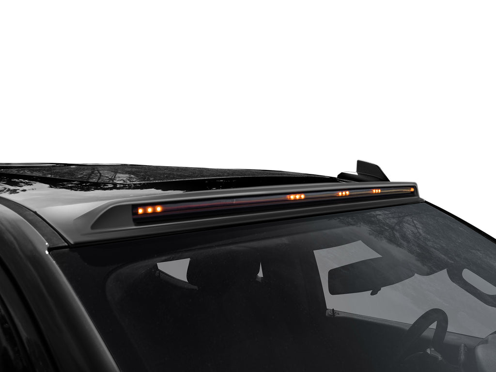 AeroCab Marker Light Color Match with five amber LED; Midnight Black Metallic