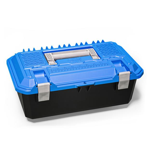 Decked AD6 Fits 1 Crossbox - drawer tool box - blue lid Blue in color