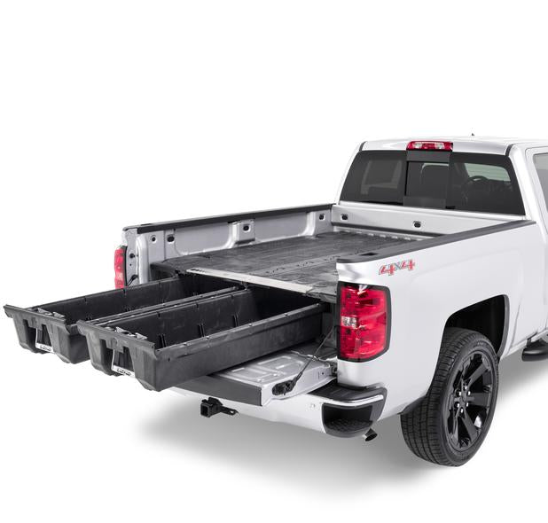 "Decked DG4 Fits 6' 6"" GM Sierra or Silverado (2007*-2018) 2500 & 3500 (2007*-2019)  Black in color"
