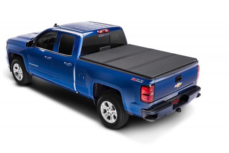 Solid Fold 2.0 Tonneau Cover - Black Textured Paint - 2009-2011 Hummer H3T