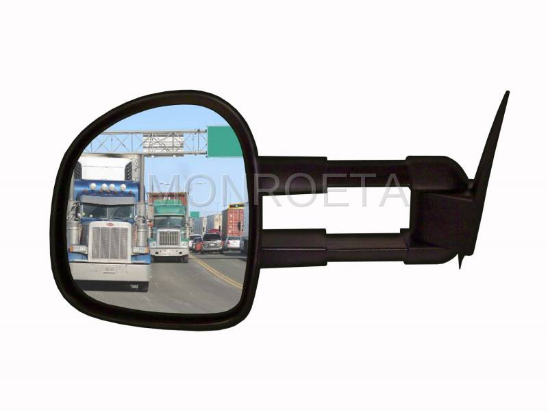 Towing Mirror - Kit contains 1 LH mirror, instructions, and hardware