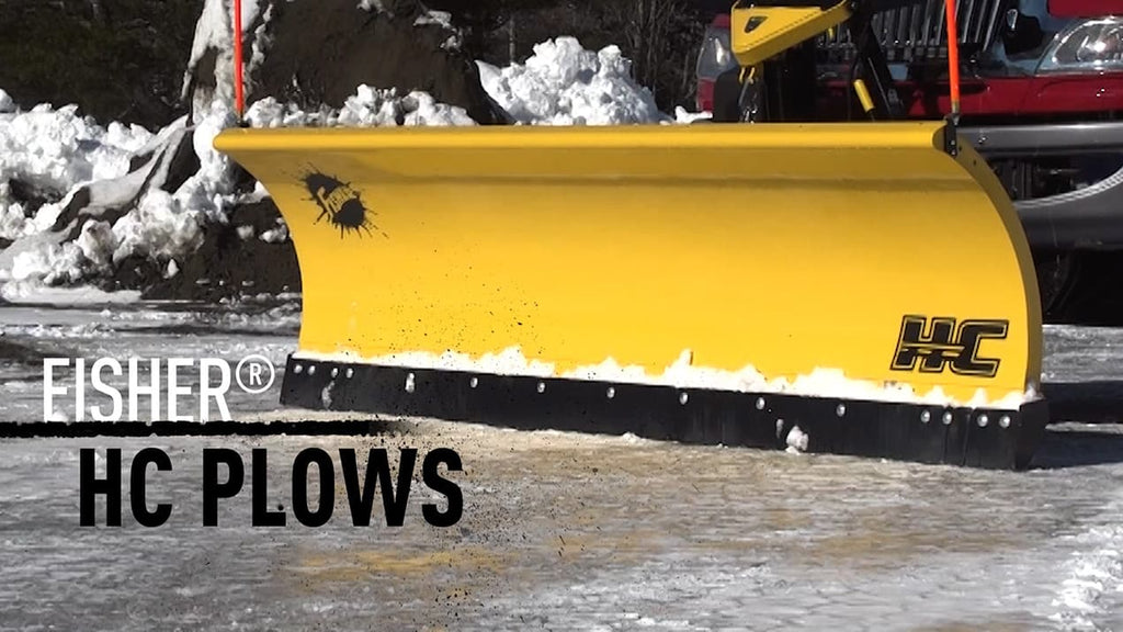 HC Straight Blade Fisher Snow Plow