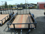 5' X 10' Steel Angle Iron Utility Trailer