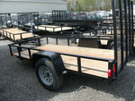 5' X 8' Steel Angle Iron Utility Trailer