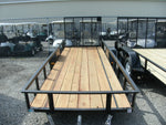 5' X 14' Steel Angle Iron Utility Trailer