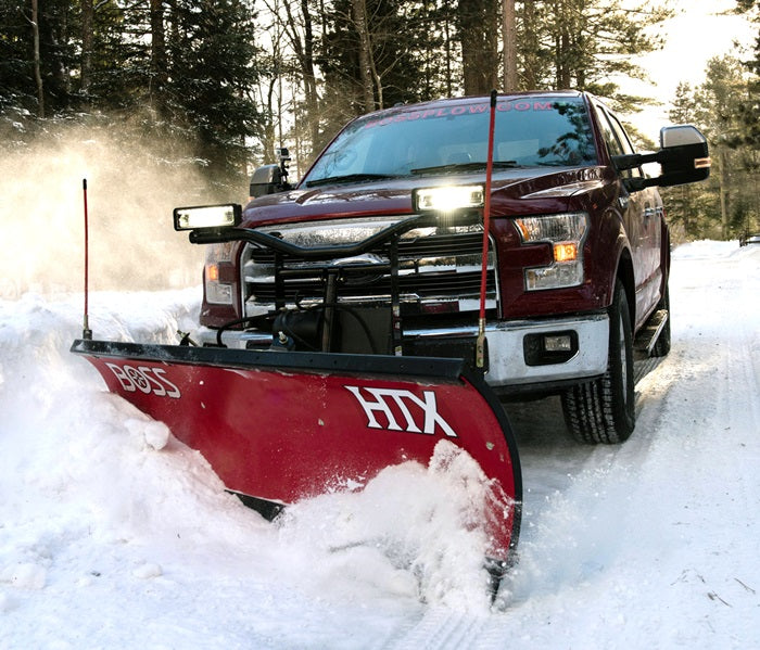 "BOSS Snow Plow 7'6"" STEEL HTX"