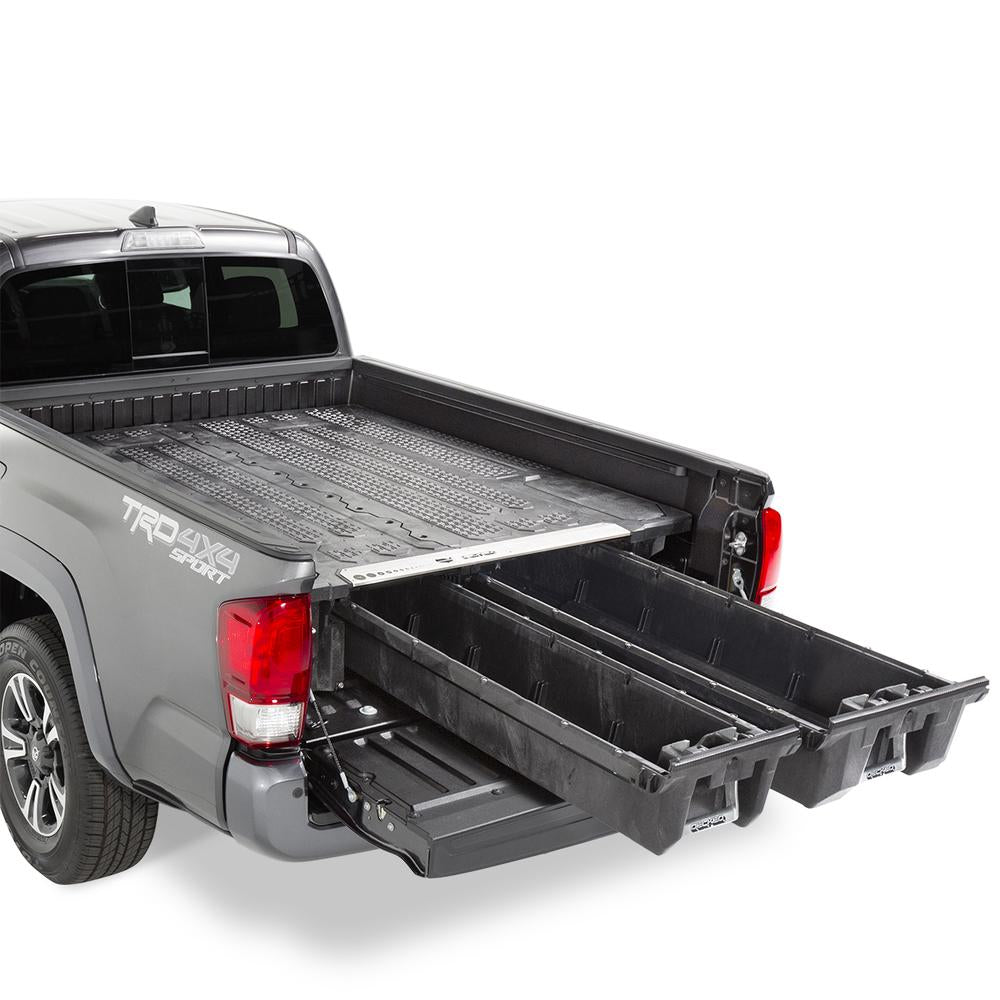 "Decked MT6 Fits 6' 2"" Toyota Tacoma (2005-2018) Black in color"