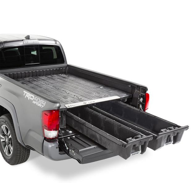 "Decked MT7 Fits 5' 1"" Toyota Tacoma (2019-current) Black in color"